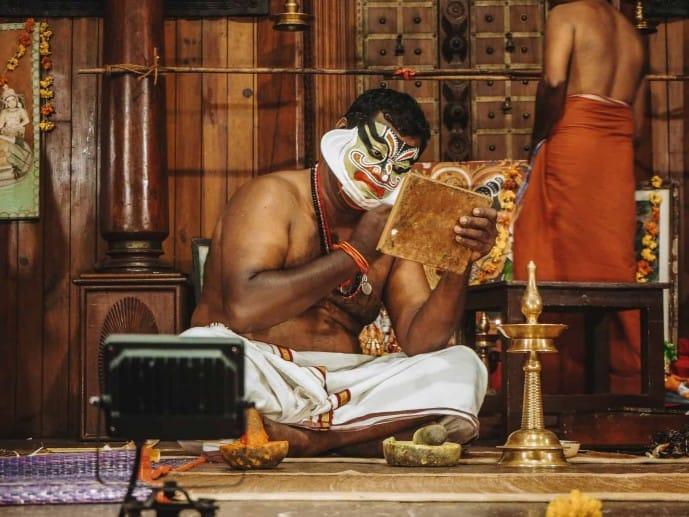 Pacha makeup kathakali