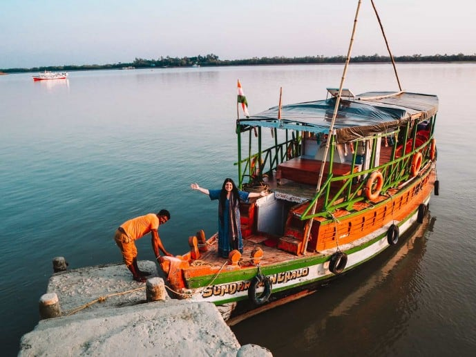 Our Sundarbans Chalo boat!