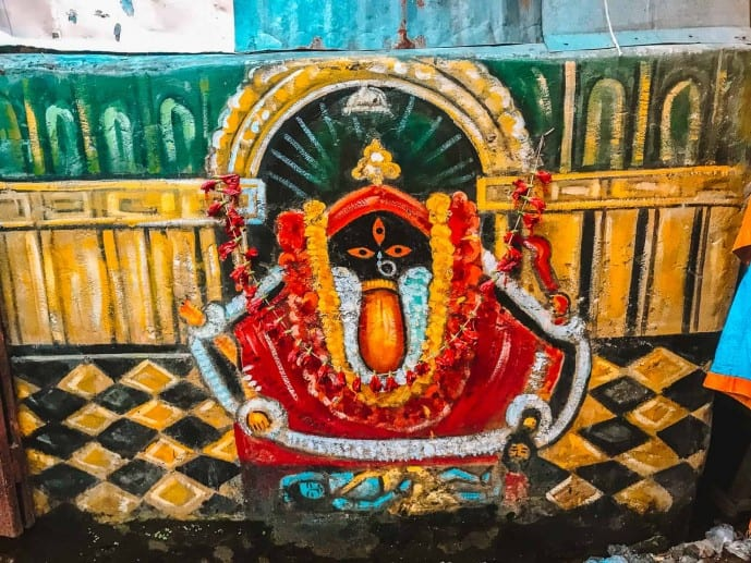 Kali Idol Kalighat Temple