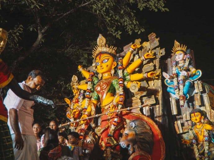 Durga Puja l in Kolkata