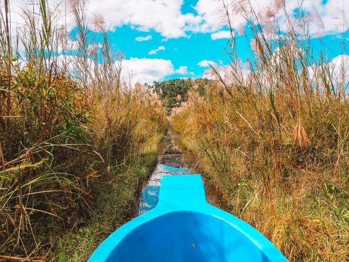 Boat ride in Keibul Lamjao National Park Manipur