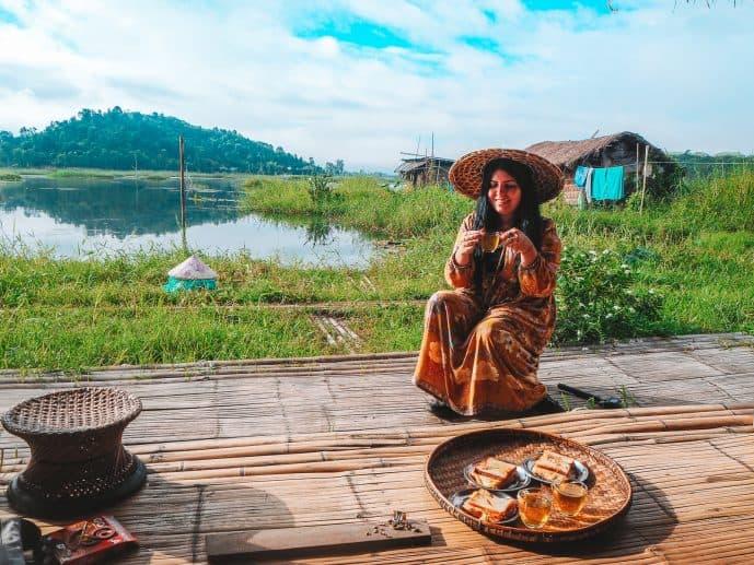 Loktak Aquamarine Homestay floating Manipur