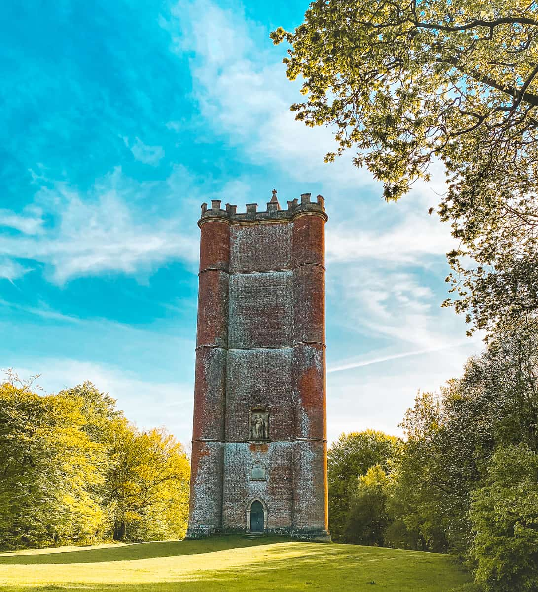 King Alfred's Tower Stourhead Wiltshire