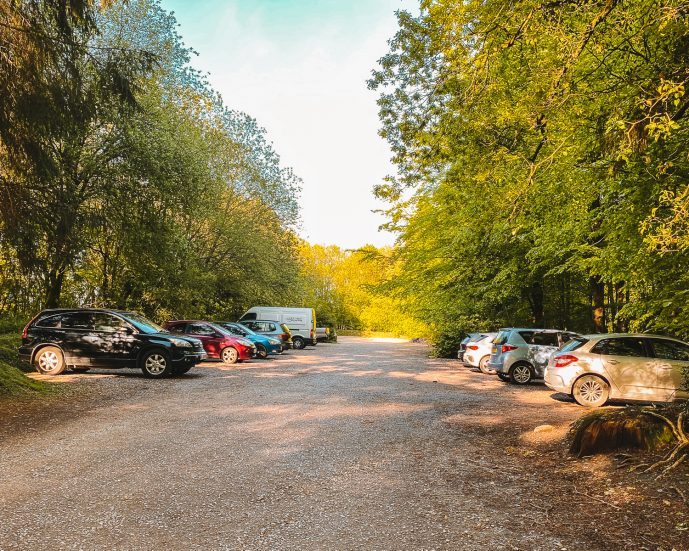 King Alfred's Tower Car Park