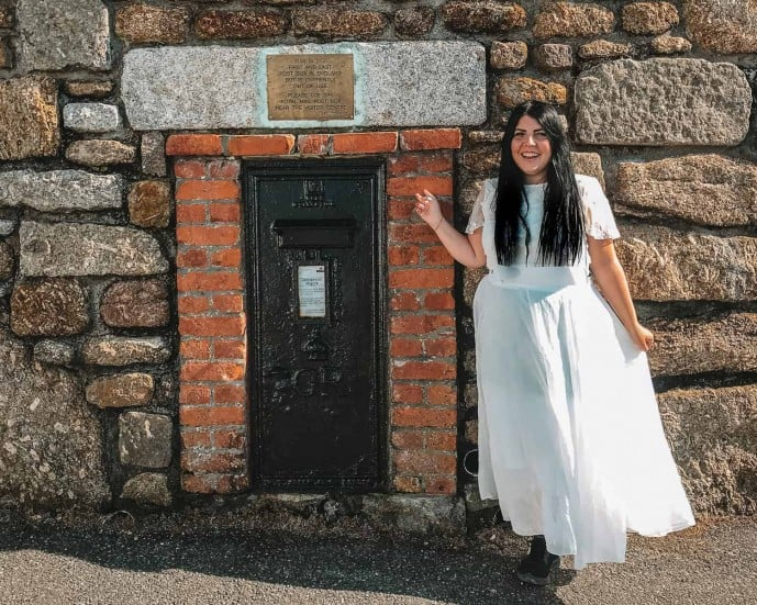 First and last postbox of England | Things to do in Lands End Cornwall