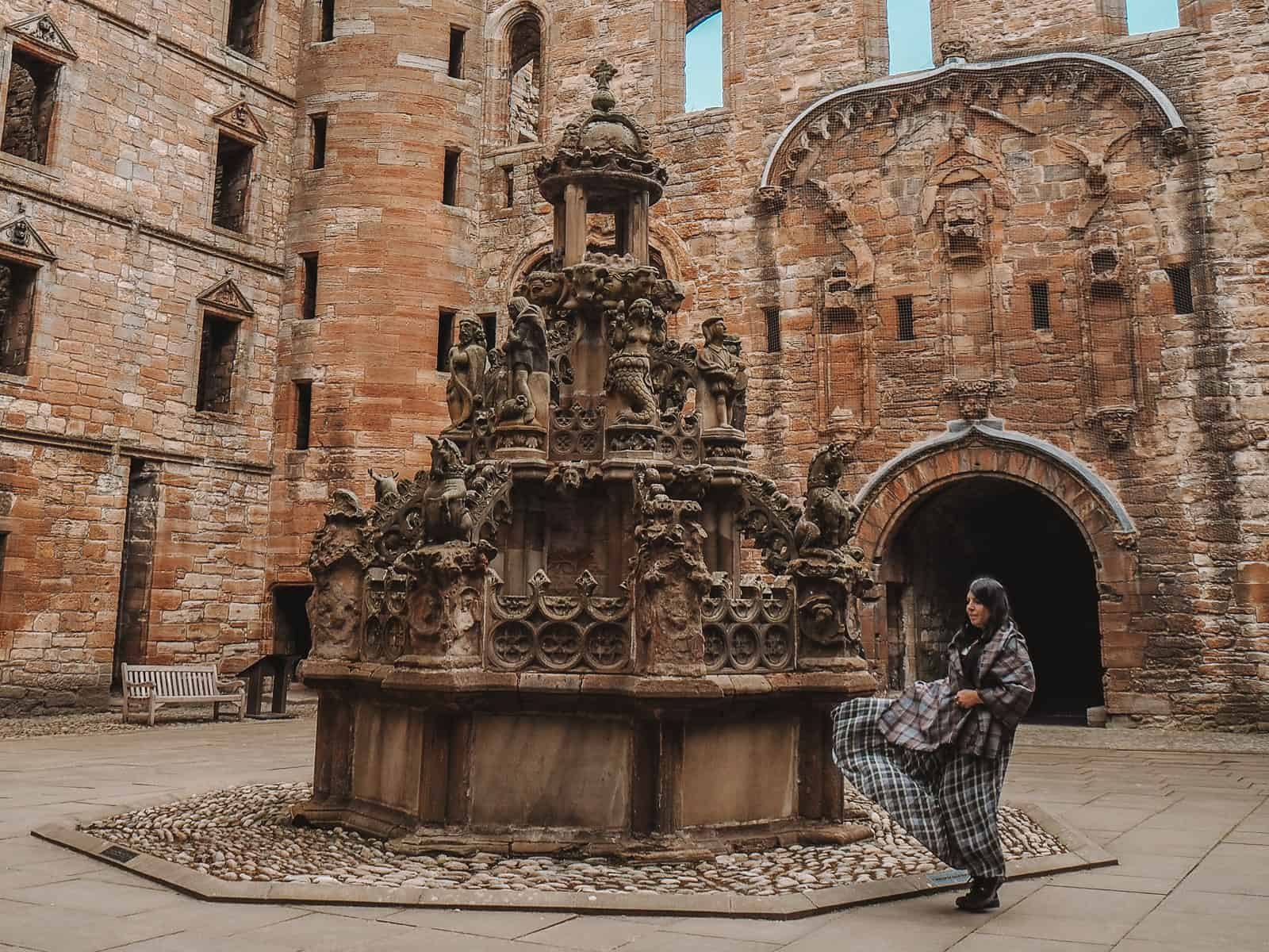 linlithgow palace outlander scenes