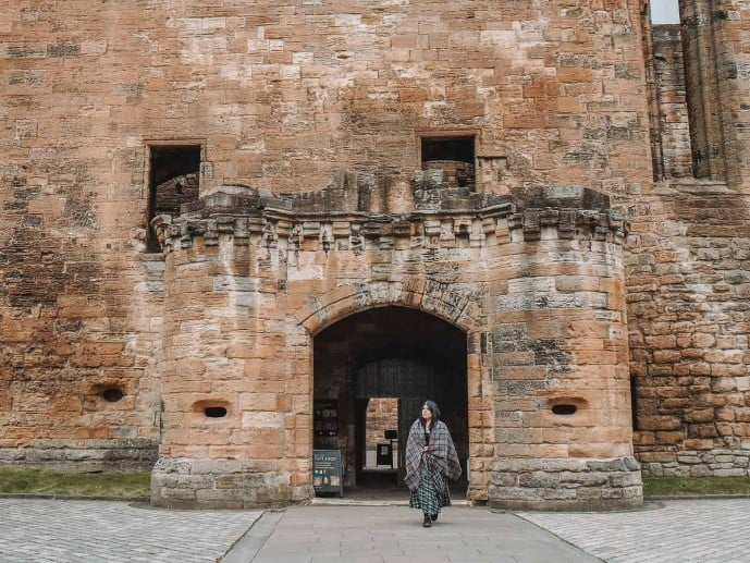 Entrance to Linlithgow Palace