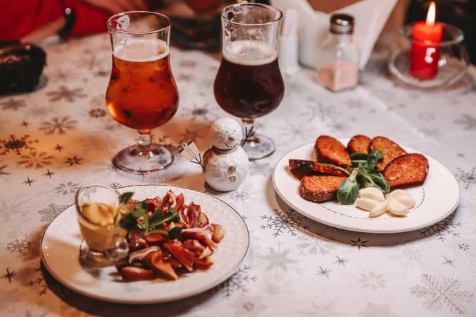 Where to eat in Vilnius | Lithuanian food in Vilnius