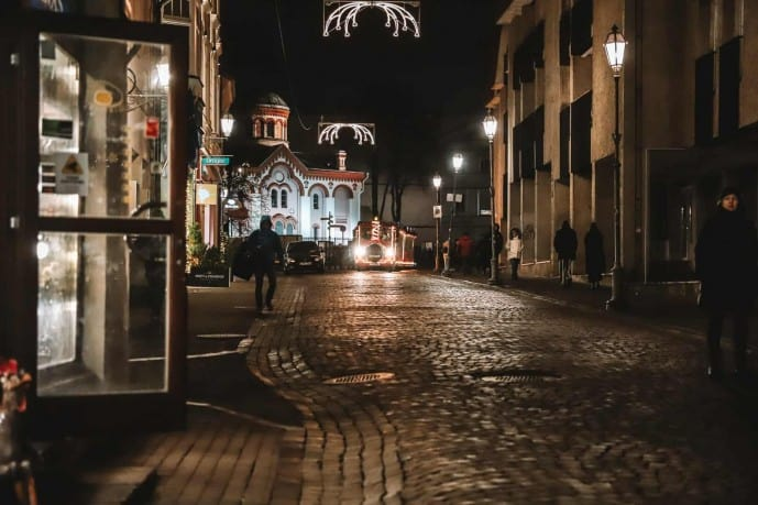 The Old town is where to eat in Vilnius