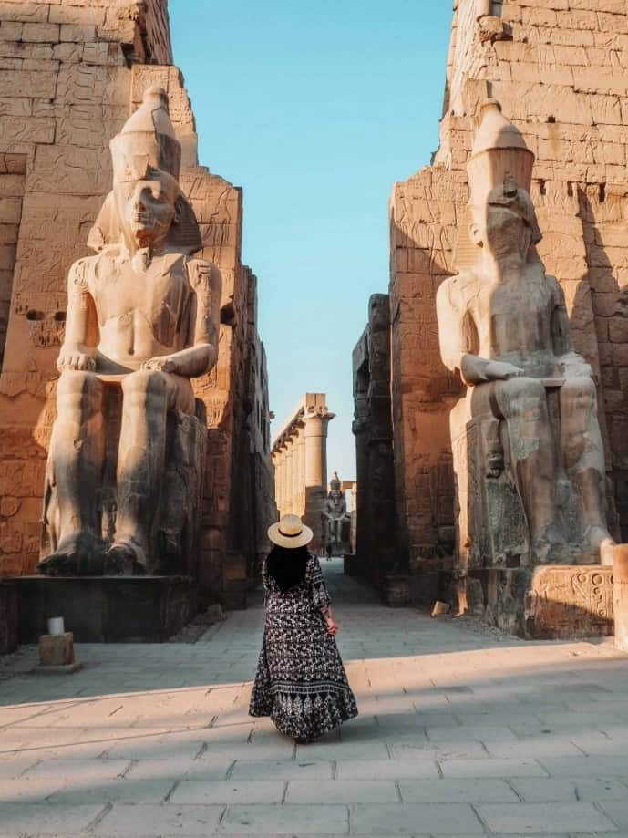 luxor itinerary