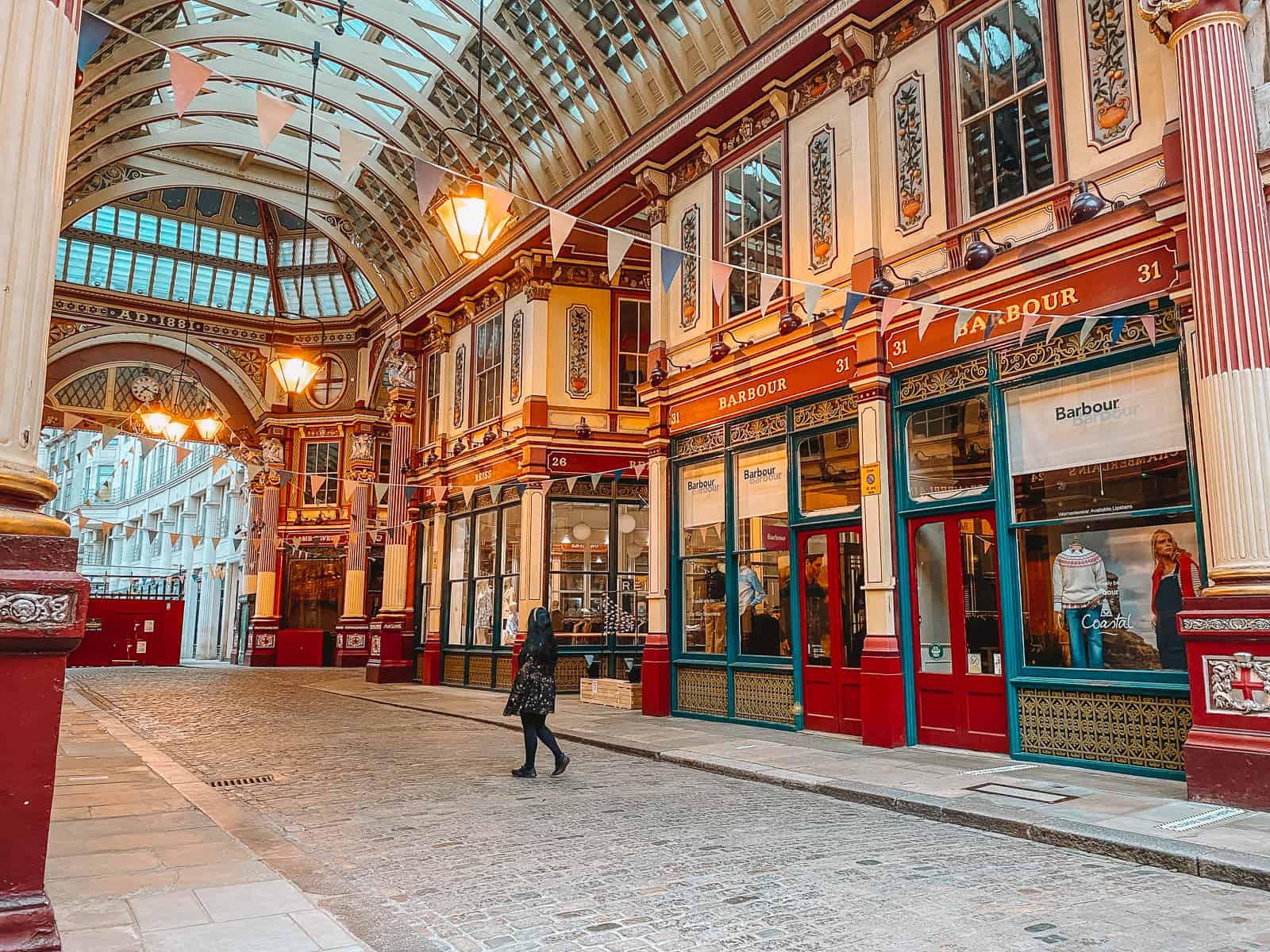Leadenhall Market Harry Potter filming locations