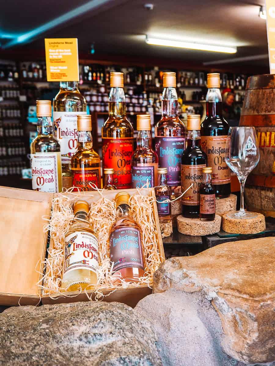 Lindisfarne Mead Holy Island St Aidans Winery