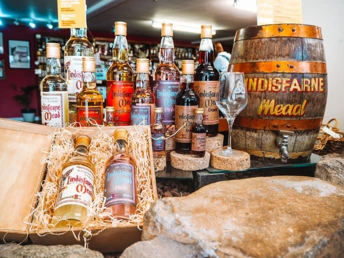 Lindisfarne Mead St Aidans Winery Showroom
