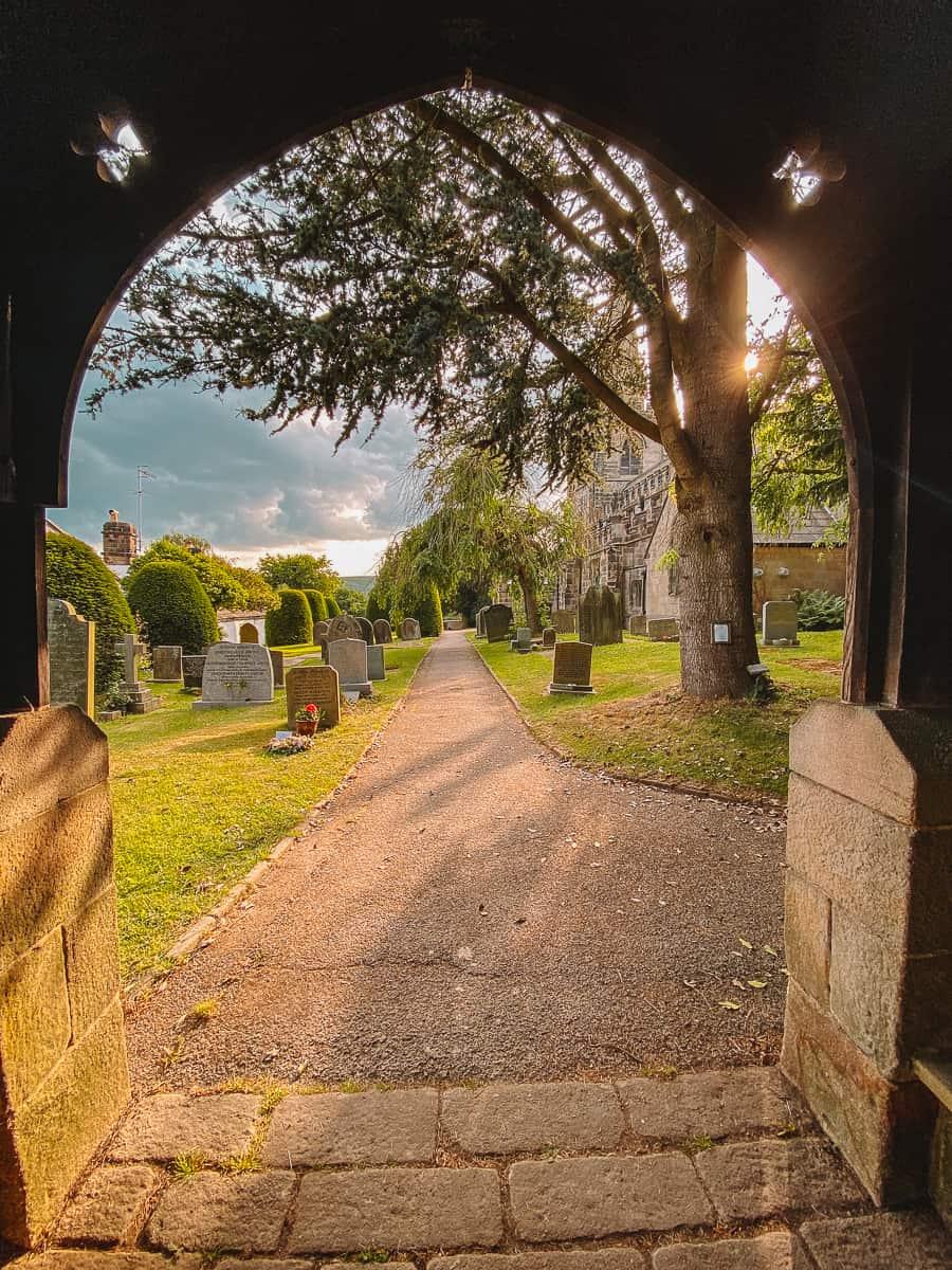 St Michael's Churchyard Hathersage