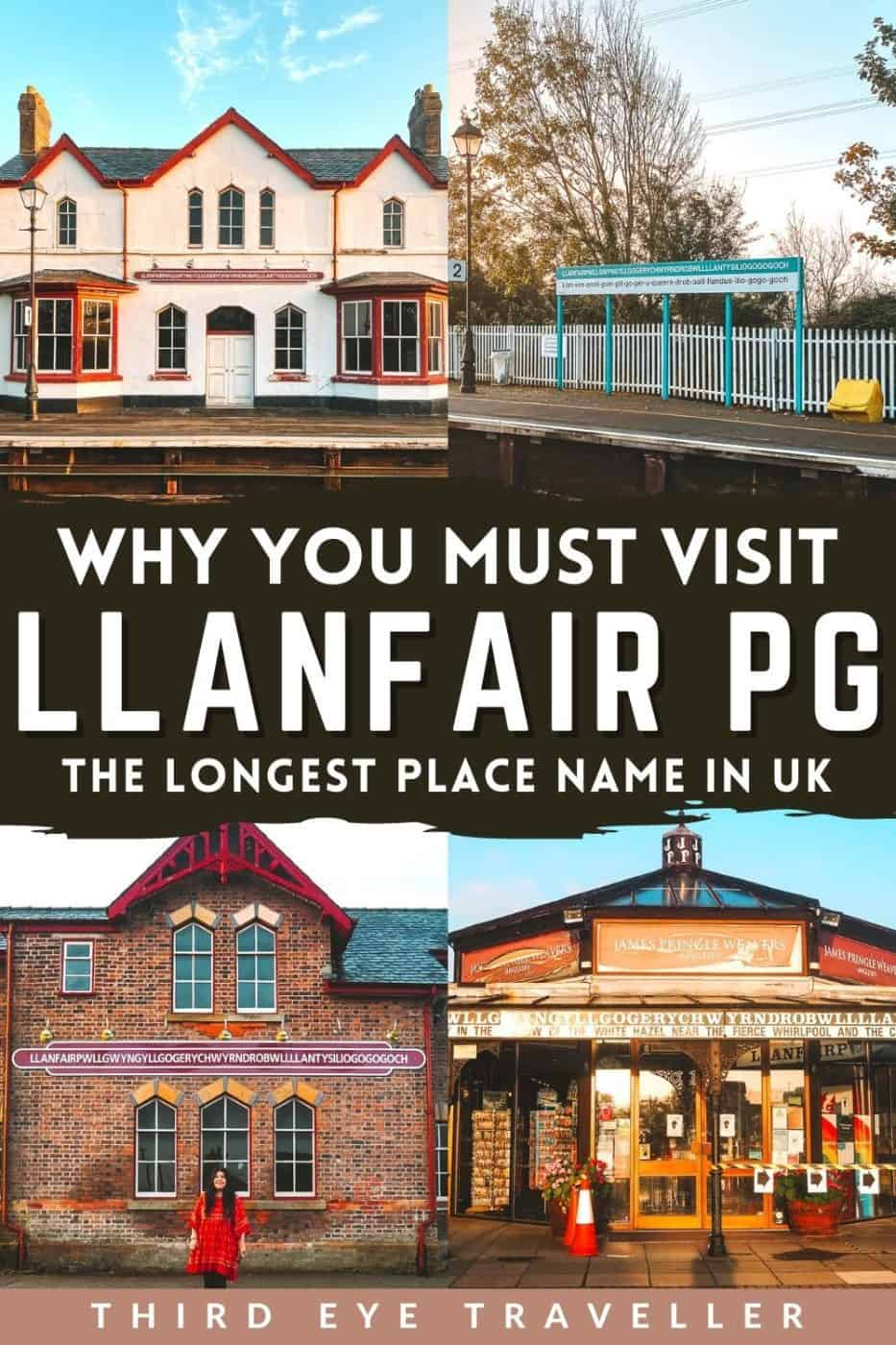 Llanfair PG Anglesey Longest place name in Wales