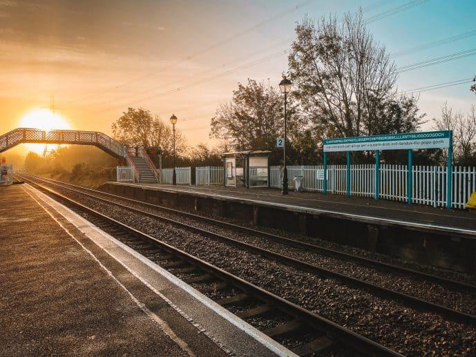 Llanfair PG railway station