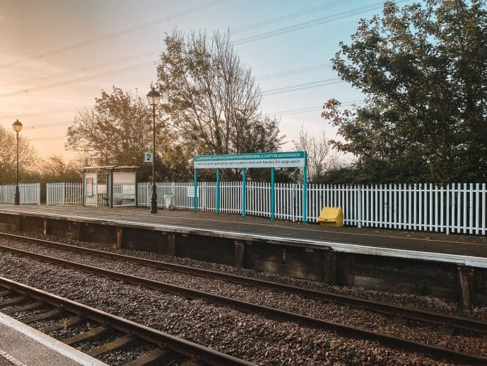 Llanfair Railway station