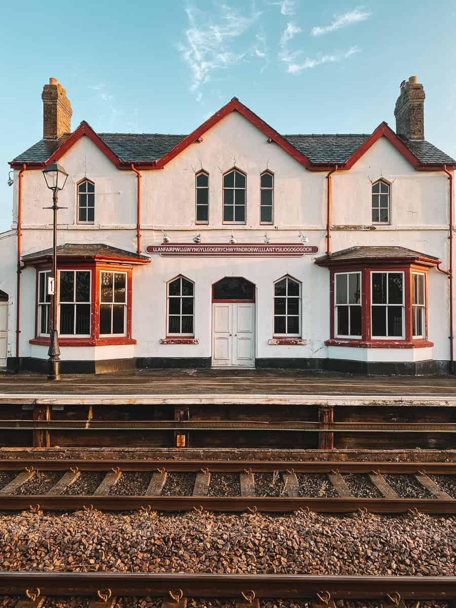 Llanfair Railway station old station building