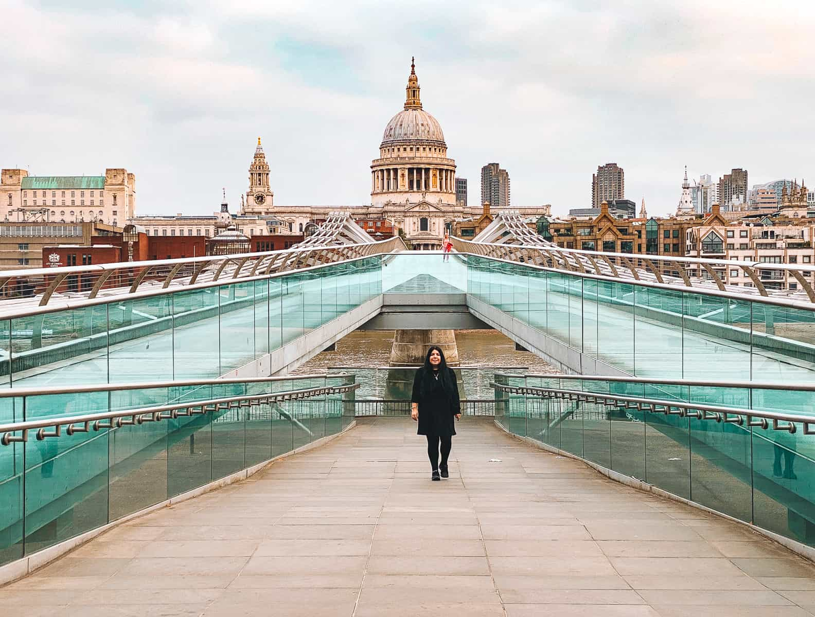 Millennium Bridge Harry Potter filming location