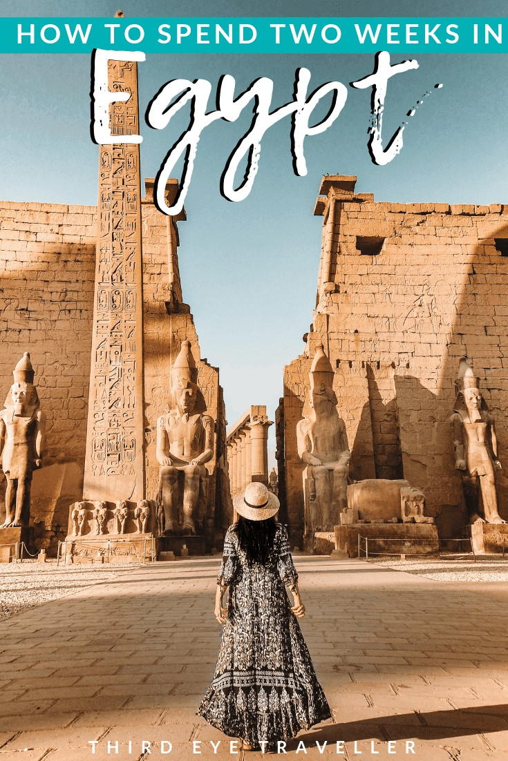 two week egypt itinerary