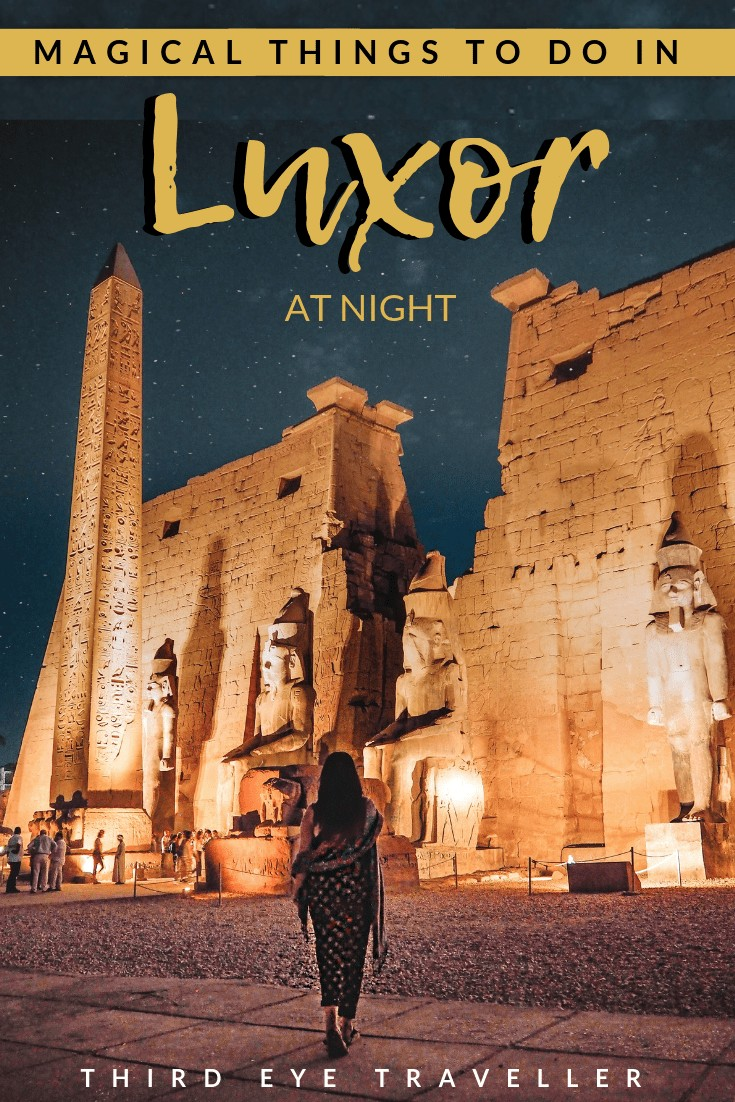 things to do in luxor at night