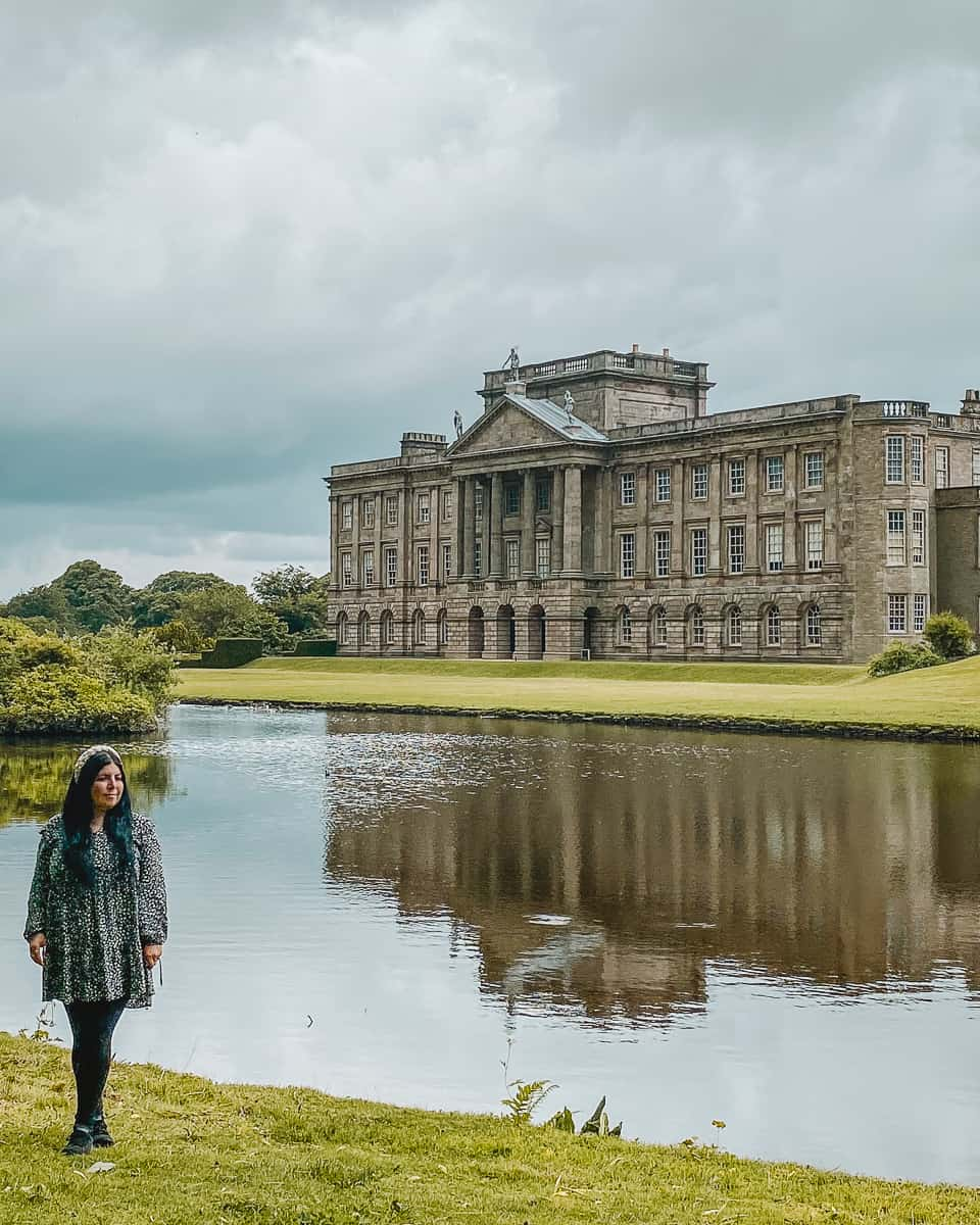 Lyme Park Pride and Prejudice Reflection Pool Colin Firth Mr Darcy