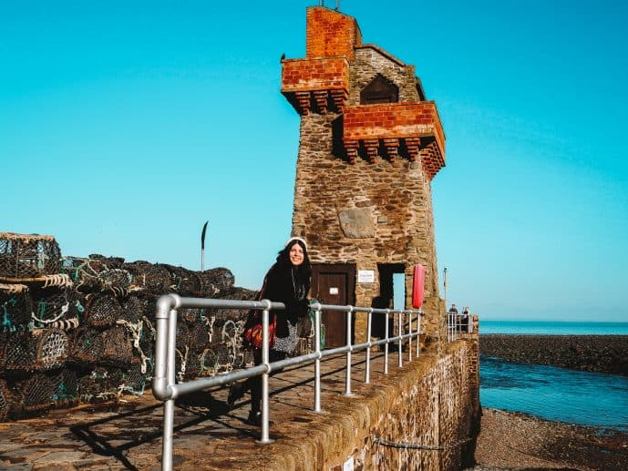 The Rhenish Tower, Lynmouth Harbour