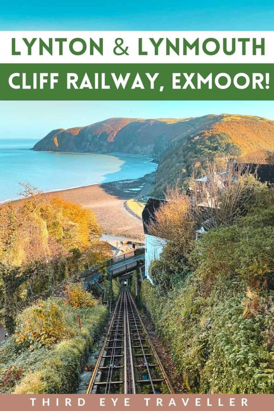 Lynton and Lynmouth Cliff Railway Exmoor National Park