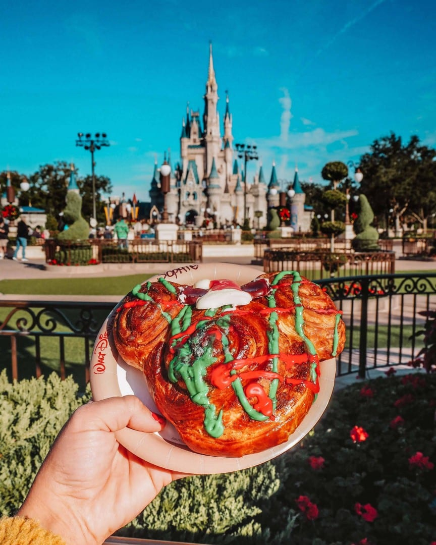 mickey shaped food walt disney world