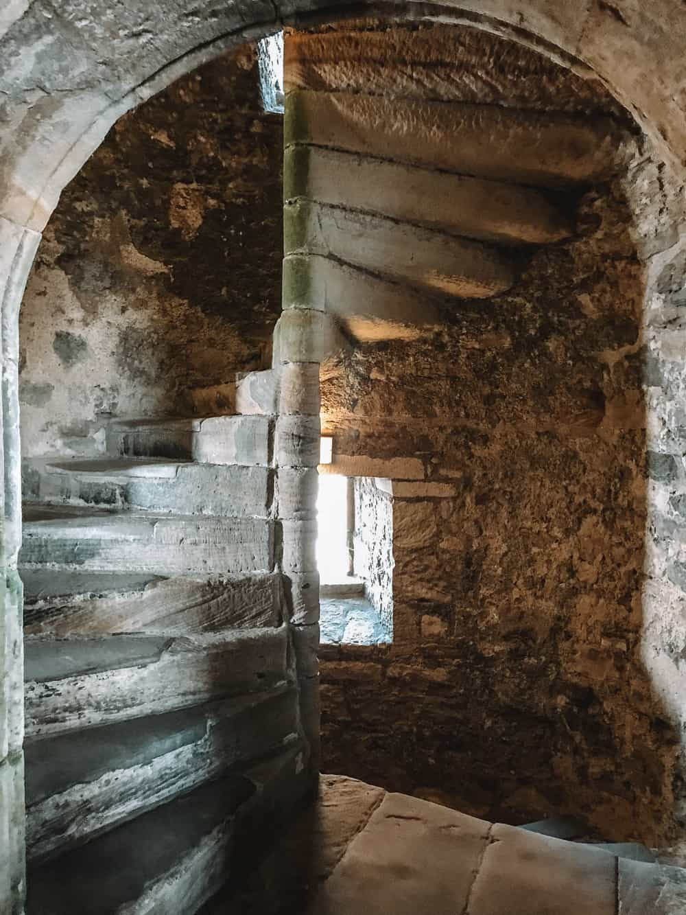 Blackness Castle Staircase