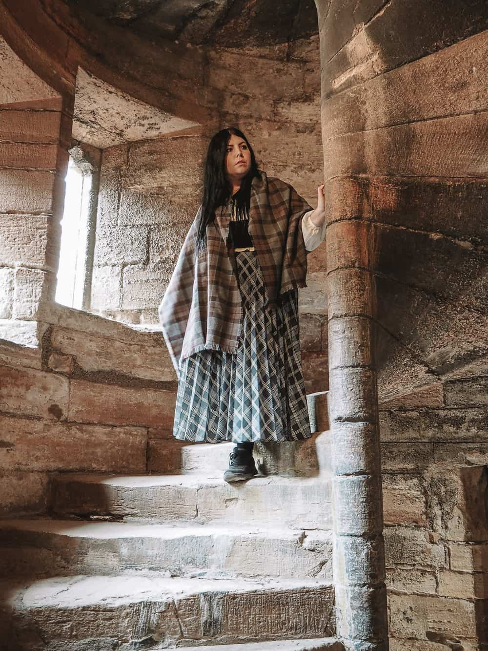 Linlithgow Palace Outlander Wentworth Prison Staircase