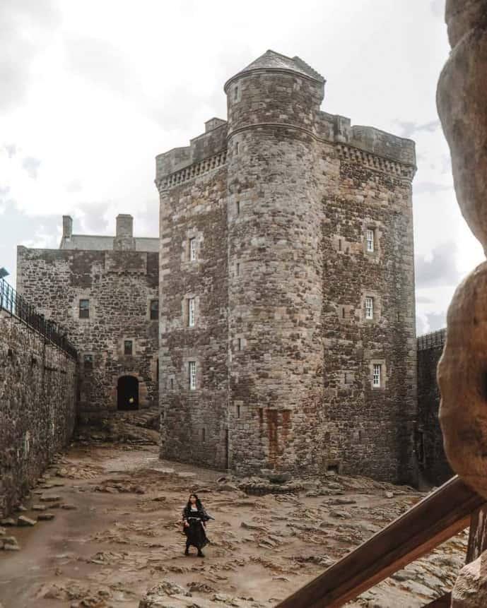 Blackness Castle Outlander location