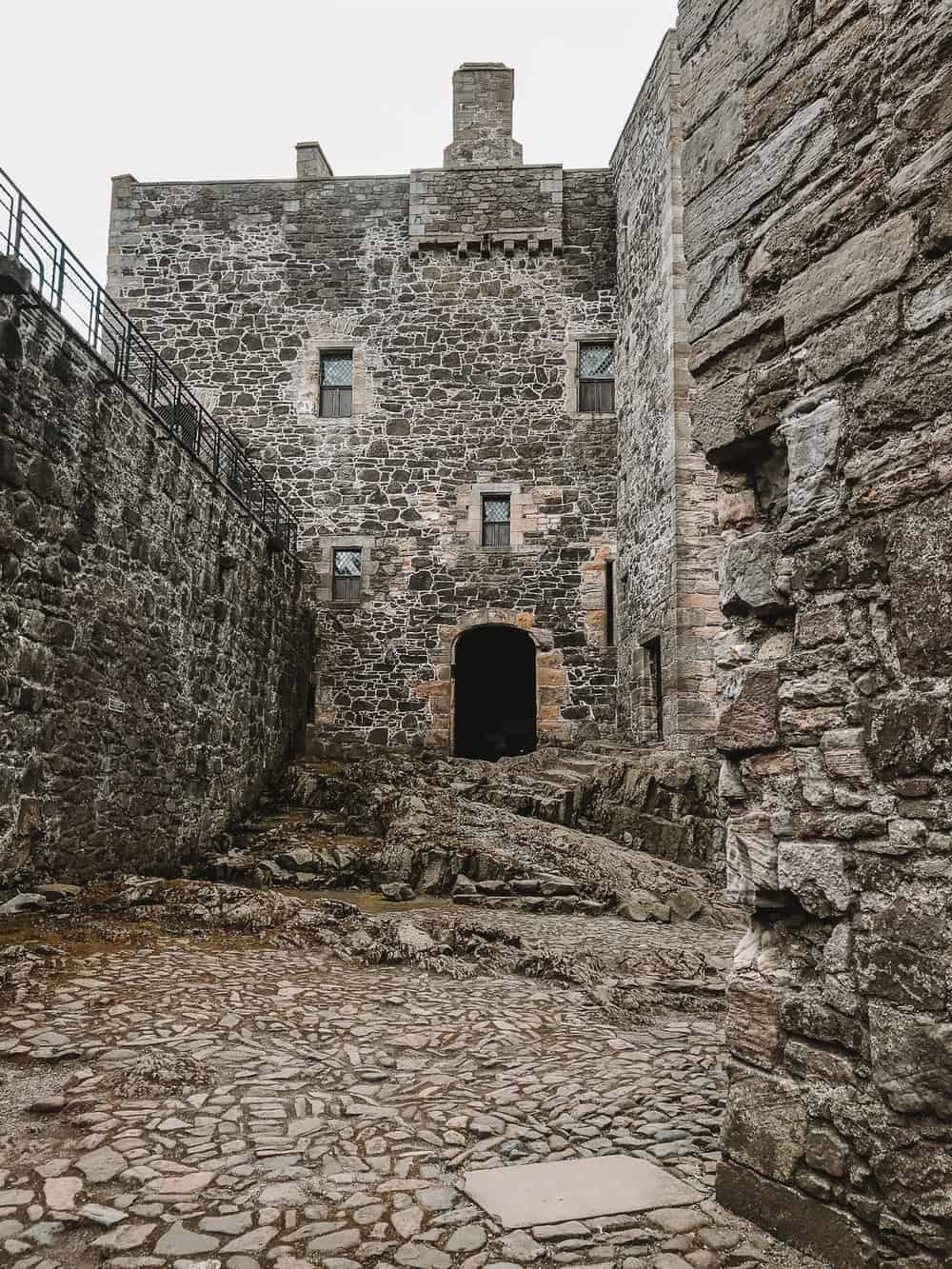 Blackness Castle Outlander location