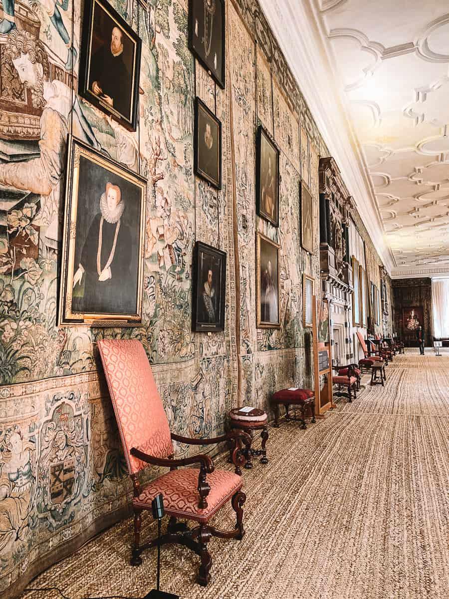 Hardwick Hall Tapestries Malfoy Manor