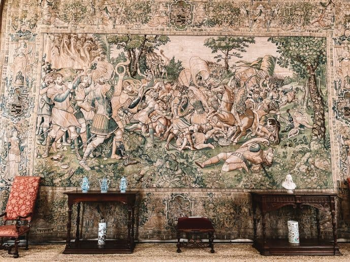 Harwick Hall tapestries Gideon