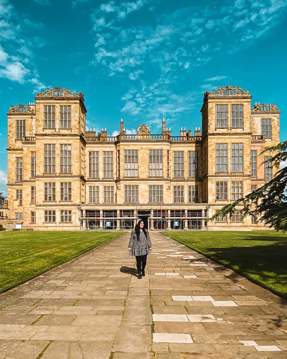 Hardwick Hall Malfoy Manor filming location