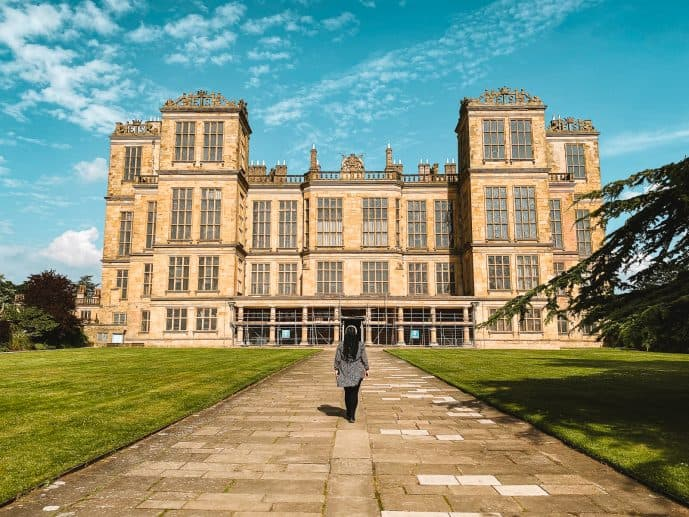 Harry Potter Hardwick Hall Malfoy Manor Deathly Hallows filming location