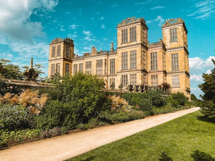 The real Malfoy Manor house location Hardwick Hall Harry Potter Deathly Hallows