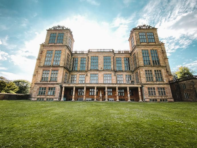 Hardwick Hall HarrY Potter filming location real Malfoy Manor