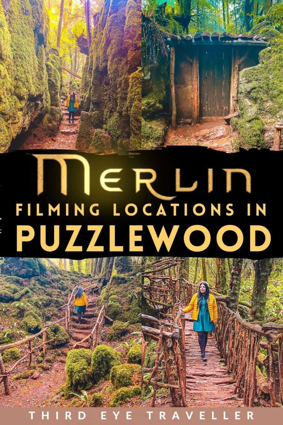 Merlin Puzzlewood Filming Locations Forest of Dean