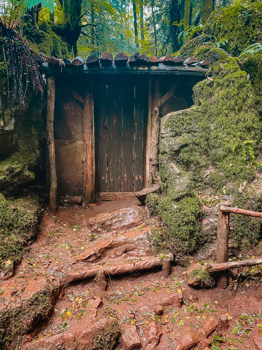 Morgana's Hovel Puzzlewood Merlin filming location