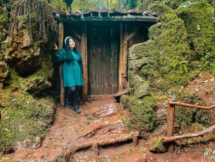 Morgana's Hut in Merlin