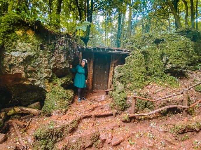 Morgana's Hut at Puzzlewood