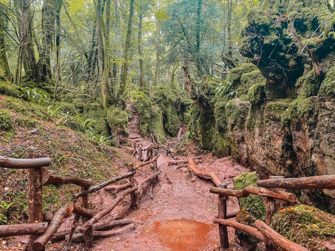 Merlin Puzzlewood Filming Location