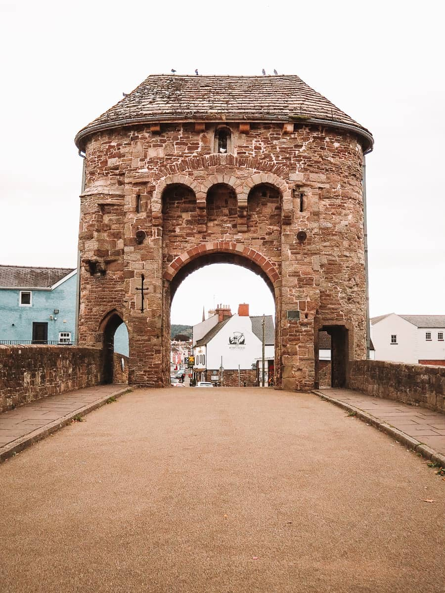 The Monnow Gate Wales