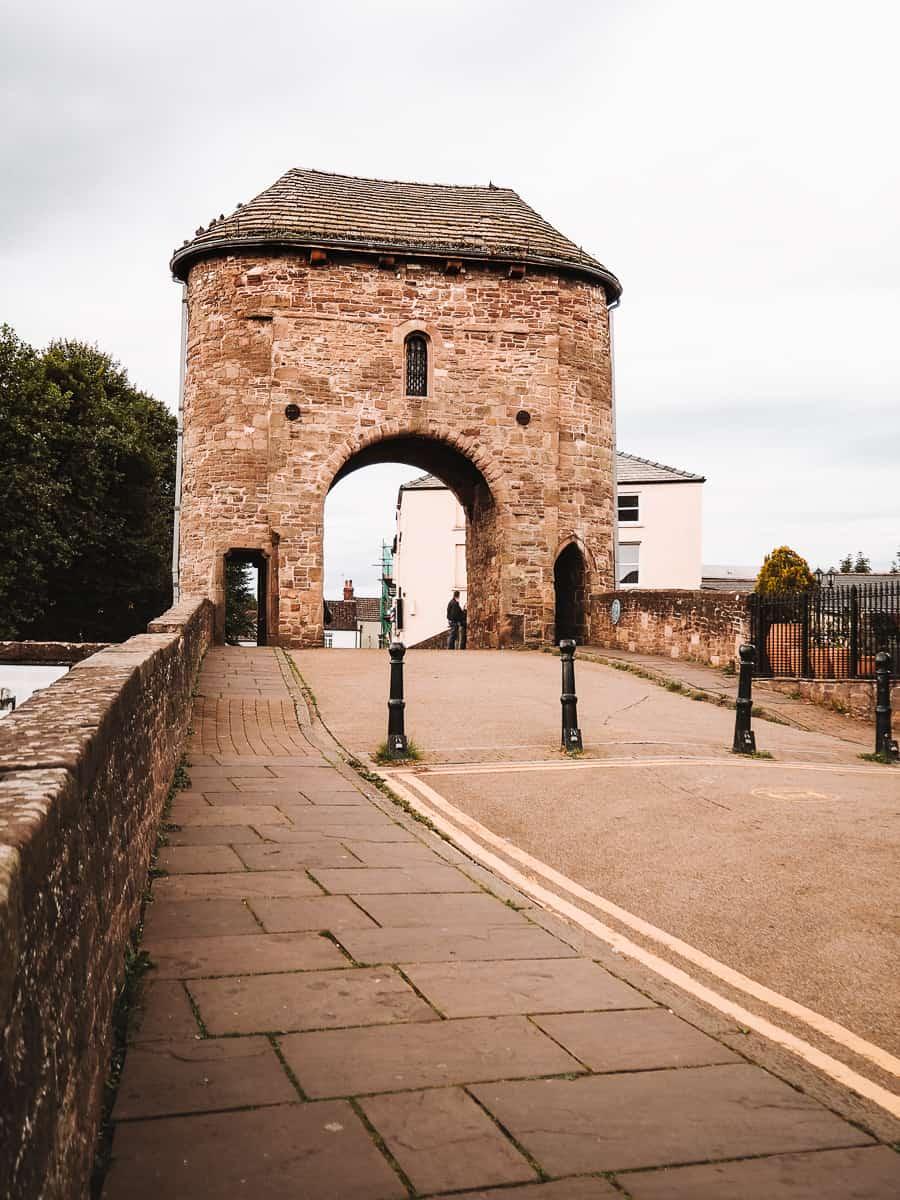 The Monnow Bridge Monmouth Wales