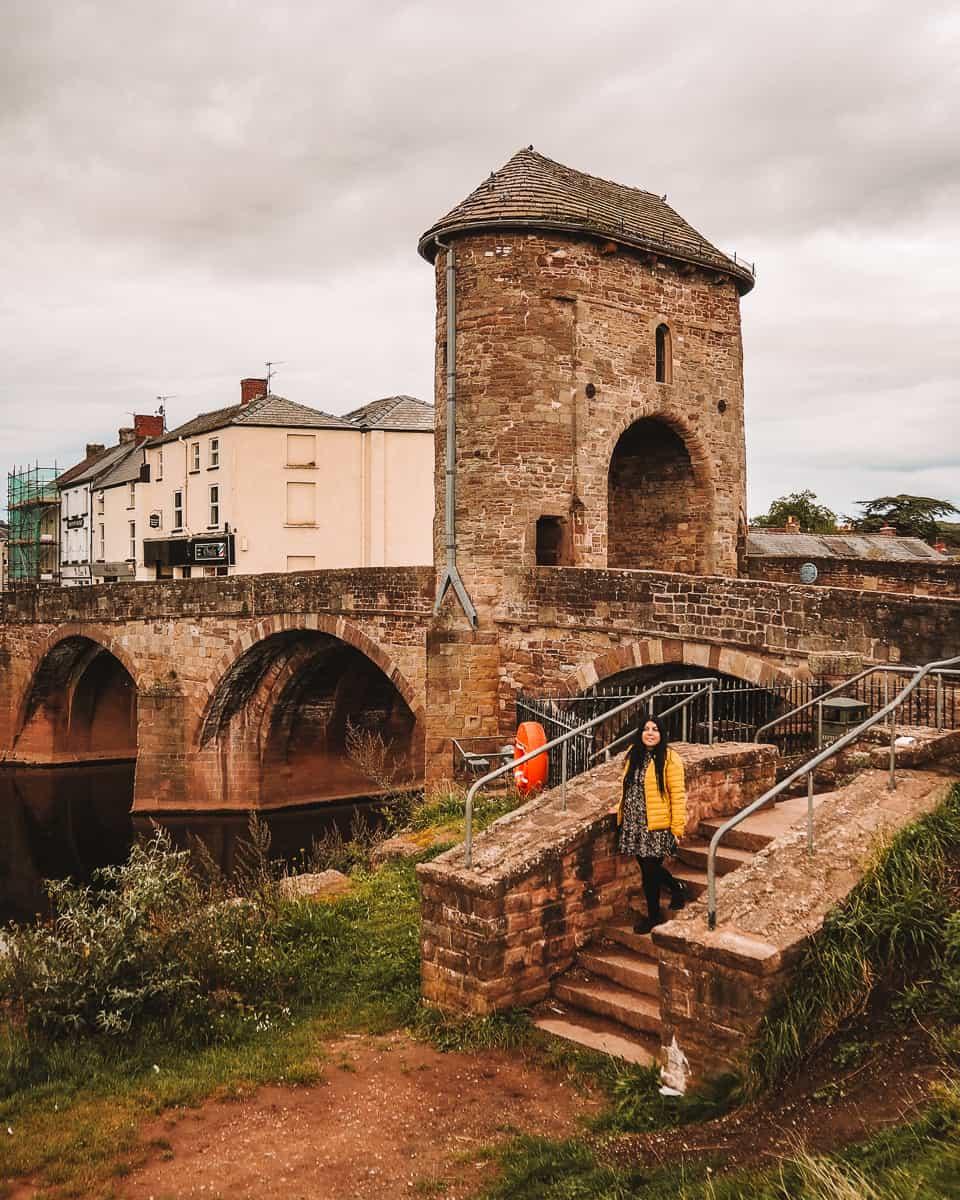 The Monnow Bridge Wales
