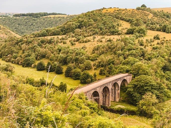 Monsal Headstone Viaduct Monsal Trail Peak District
