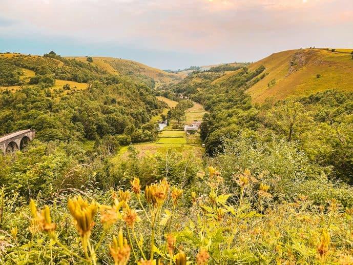 Monsal Dale Valley Peak District