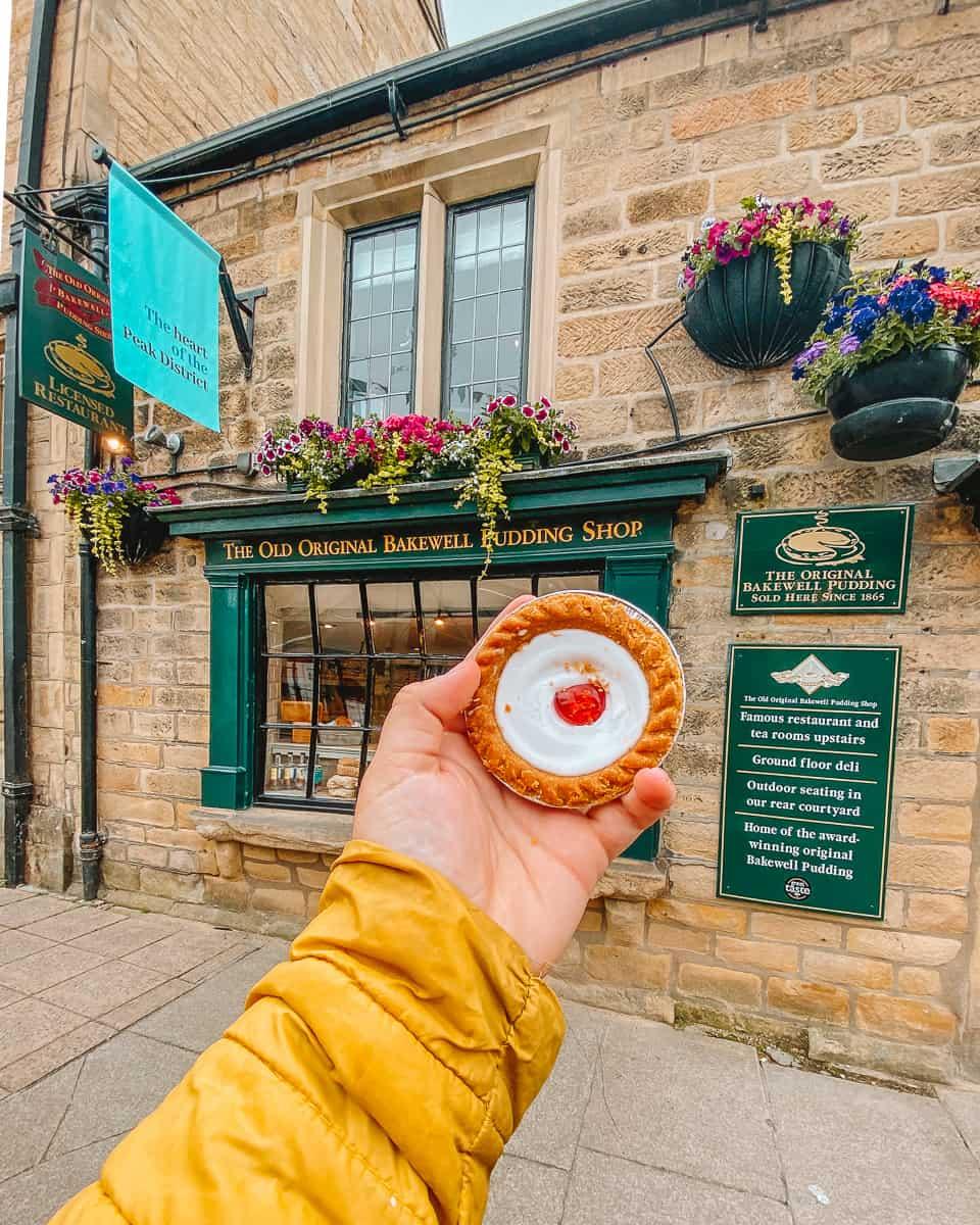 Old Bakewell Pudding Shop Bakewell Tart